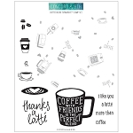 Coffee Blend Turnabout Stamp Set