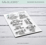 Banner Blessings Stamp Set
