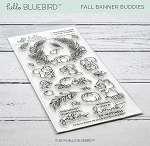 Fall Banner Buddies Stamp Set