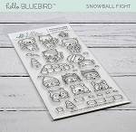 Snowball Fight Stamp Set