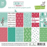 Snow Day Remix 6x6 Petite Paper Pack
