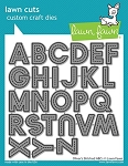 Olivers Stitched Abcs Lawn Cuts