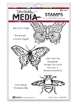 Scribbly Insects Stamp Set