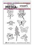 Scribbly Flowers & Insects Stamp Set