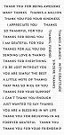 Bitty Thanks & Gratitude Stamp Set