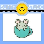 Mouse in a Mug Collectible Pin