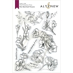 Pen Sketched Flowers Stamp Set