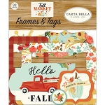 Fall Market Frames & Tags Ephemera
