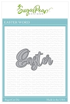 Easter Word Sugar Cuts