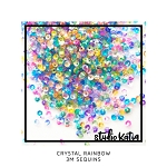 3mm Crystal Rainbow Sequins