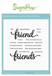 Friendship Sentiments Stamp Set