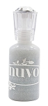 Nuvo Glitter Drops Silver Crystals