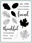 Stitched Leaves Stamp Set