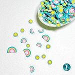 Sunshine And Rainbows - Clay Sprinkles Embellishment Mix