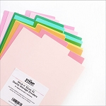 Stick N' Store Stamp Storage Dividers Rainbow