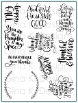 Thankful & Blessed Stamp Set