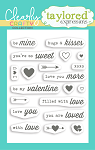 All Tucked In - Valentine Stamp Set