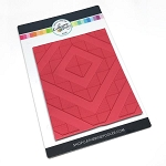 Angled Squares Background Stamp