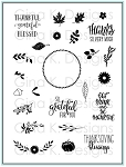Autumn Wreath Builder Stamp Set