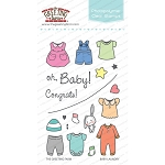 Baby Laundry Stamp Set