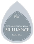Brilliance Dew Drops Starlite Silver