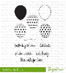 Birthday Balloons Stamp Set
