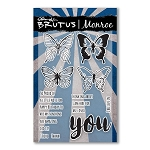 Butterfly Sentiments Stamp Set