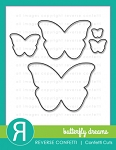 Butterfly Dreams Confetti Cuts Die