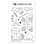 Camping with Bear & Bunny Stamp Set