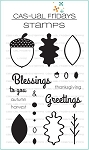 Autumn Blessings Stamp Set