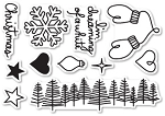 Dreaming of a White Christmas Stamp Set