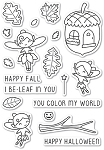 Autumn Fairies Stamp Set