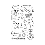 Mouse Tea Party Stamp Set