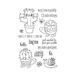 Cactus Animals Stamp Set
