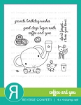 Coffee and You Stamp Set