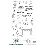 Coffee Cart Stamp Set