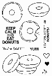 Donuts Stamp Set