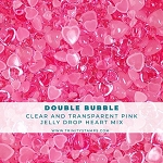 Double Bubble - Jelly Drop Hearts Embellishment Mix