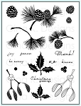 Festive Foliage Stamp Set