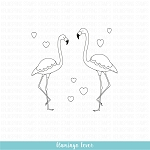 Flamingo Fever Stamp Set