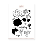 Flower Market Stamp Set