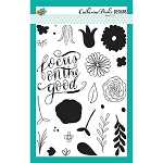 Focus on the Good Floral Stamp Set