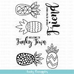 Funky Pineapples Stamp Set