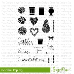 Topiary Garden Stamp Set