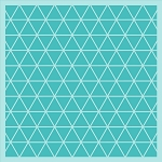 Geometric Background Stencil