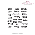 Goals + Habits Stamp Set