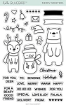 Merry Greeters Stamp Set