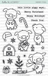 Merry Pigs Stamp Set
