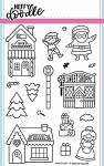 Santa's Village Stamp Sets