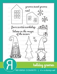 Holiday Gnomes Stamp Set